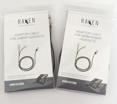 Adaptor cable for Jabra headsets (for Raven) - 3