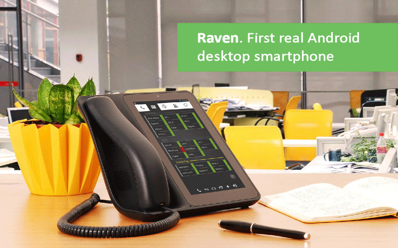 Raven. Real smartphone.